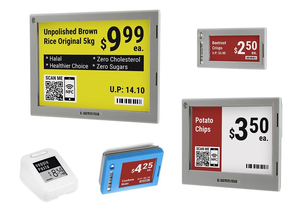 צגי מחיר דיגיטליים
