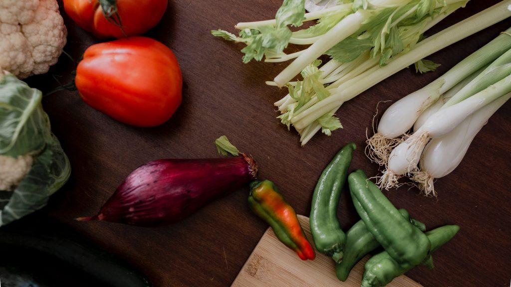 משקל ירקות